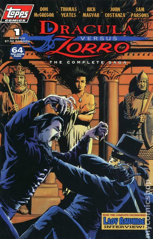 Zorro TPB 1994 Topps 1 1ST