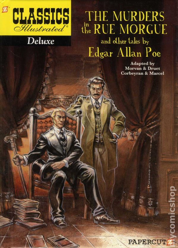 edgar allen poes the murders in Search in the poems of edgar allan poe: edgar allen poe was an american author, poet, editor and literary critic, considered part of the american romantic movement best known for his tales of mystery and the macabre, poe was one of the earliest american practitioners of the short story and is considered the inventor of the detective fiction.