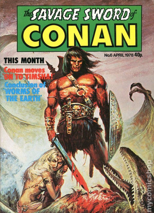 savage sword of conan 4 2019