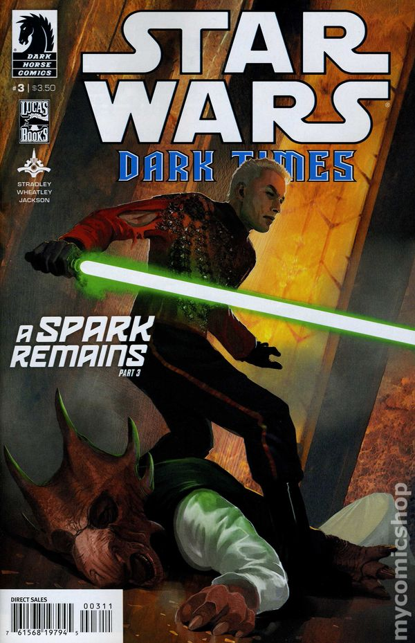 Star Wars Dark Times A Spark Remains #2 2013 FN Stock Image
