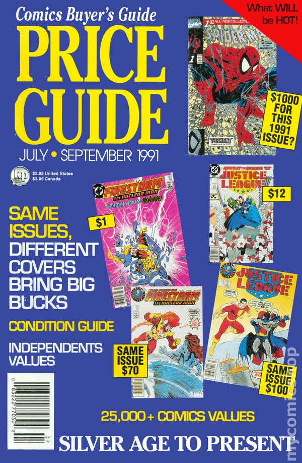 Buyer S Guide To Wardrobes: Comics Buyer's Guide Price Guide (1990 Magazine) Comic Books