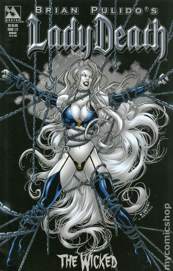 Lady Death The Wicked 2005 1 2 Comic Books