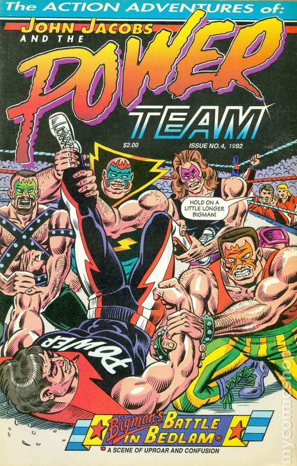 John Jacobs and the Power Team (1991) comic books