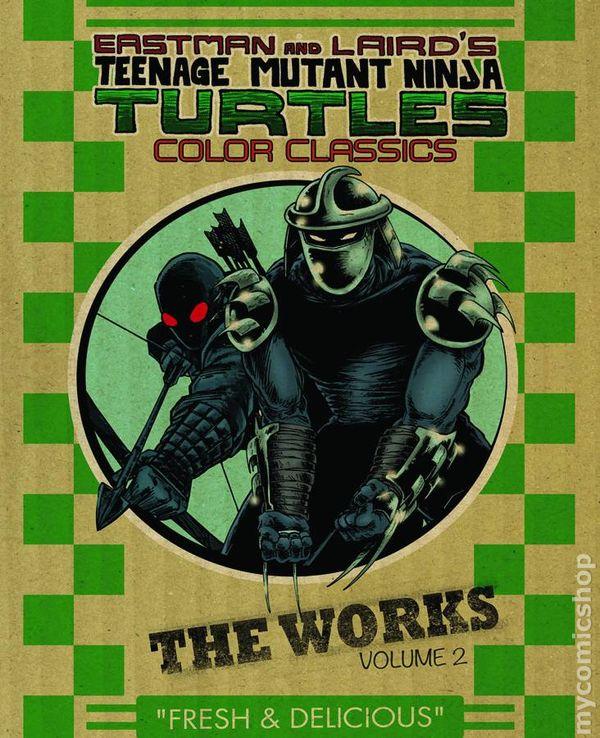 teenage mutant ninja turtles color classics the works hc 2013 2016