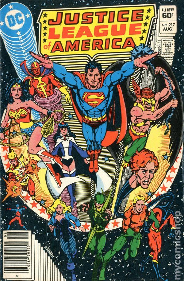 Justice League Comic Book