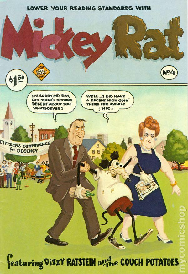 Mickey Rat 1972 Comic Books