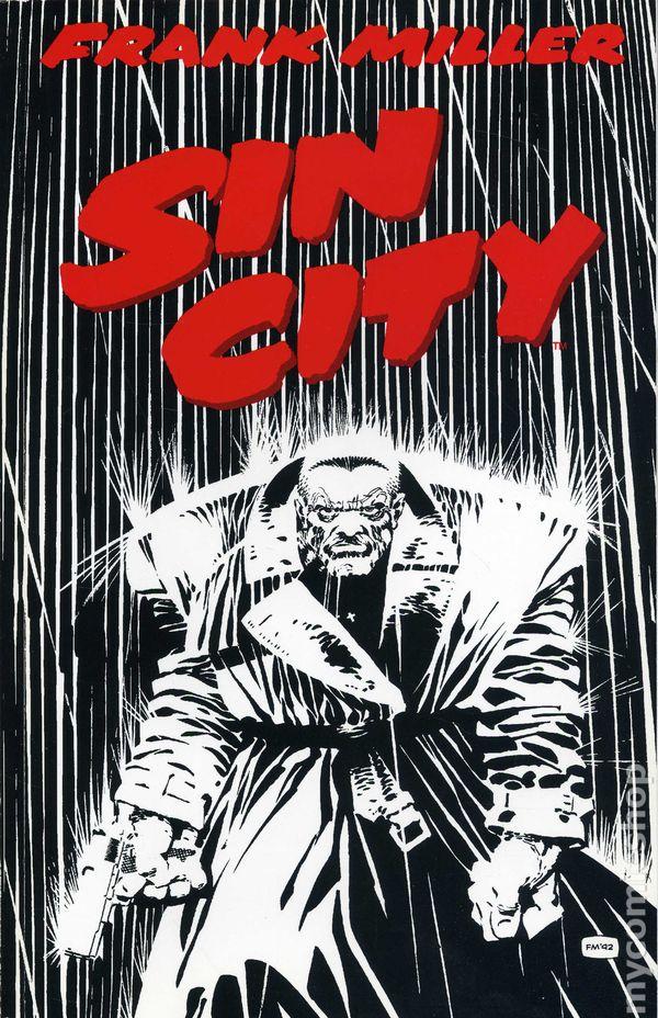 Sin City TPB (1992 Dark Horse) 1st Edition comic books