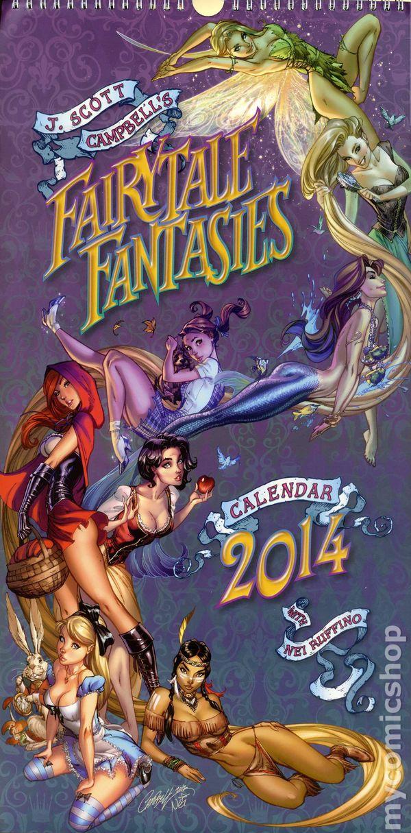 Fairy Tale Fantasies 2014 Cale...