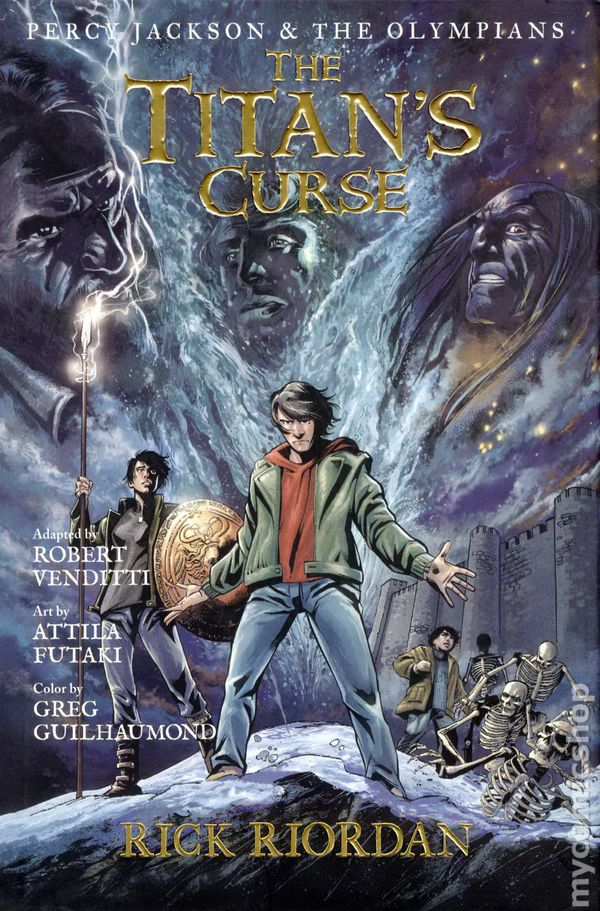 Percy Jackson and the Olympians HC (2010) comic books