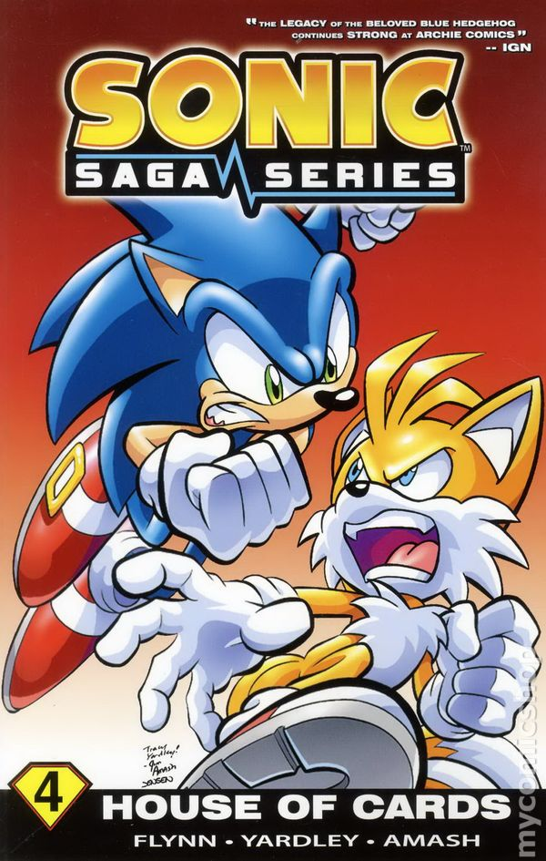 Sonic Saga Series Tpb 2012 Archie Comic Books