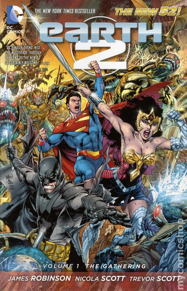 7eb7ecd6b3bd Earth 2 TPB (2013-2017 DC Comics The New 52) comic books