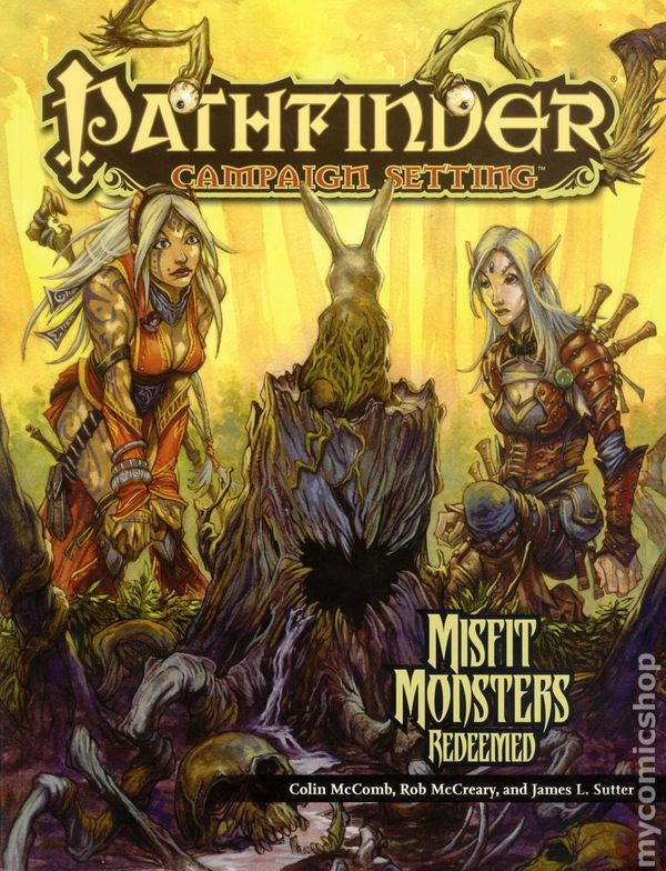 Pathfinder Campaign Setting: Misfit Monsters Redeemed SC