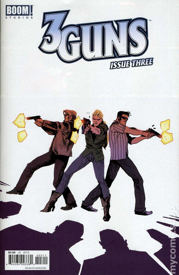 3 Guns (2013 Boom) comic books