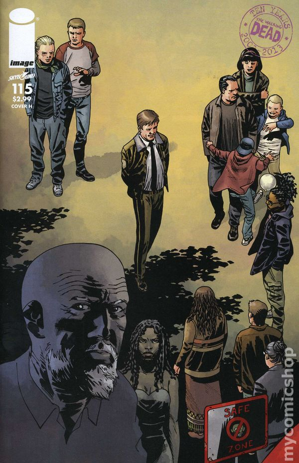 WALKING DEAD #115E Robert Kirkman