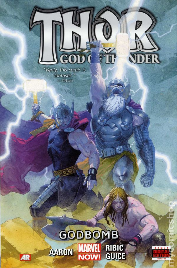 Thor God of Thunder HC (2013-2014 Marvel NOW) comic books  Thor