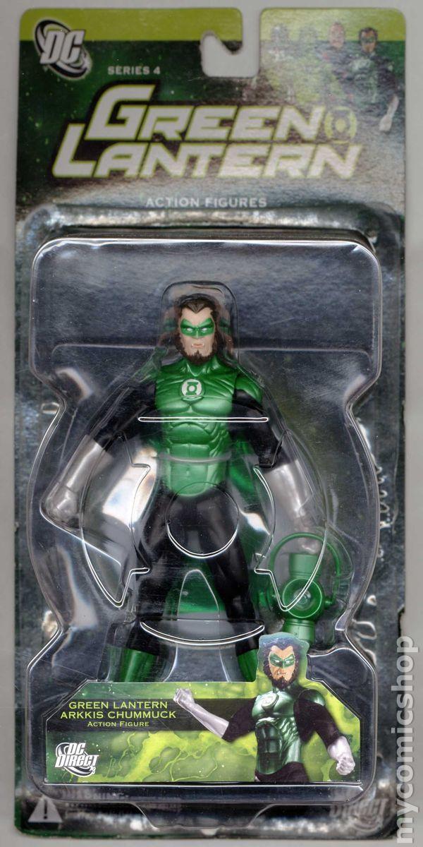 Green Lantern Action Figure 2005 2011 Dc Comic Books