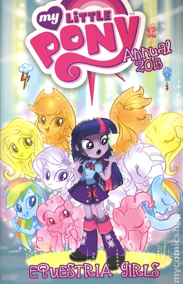 my little pony friendship is magic 2012 idw annual comic