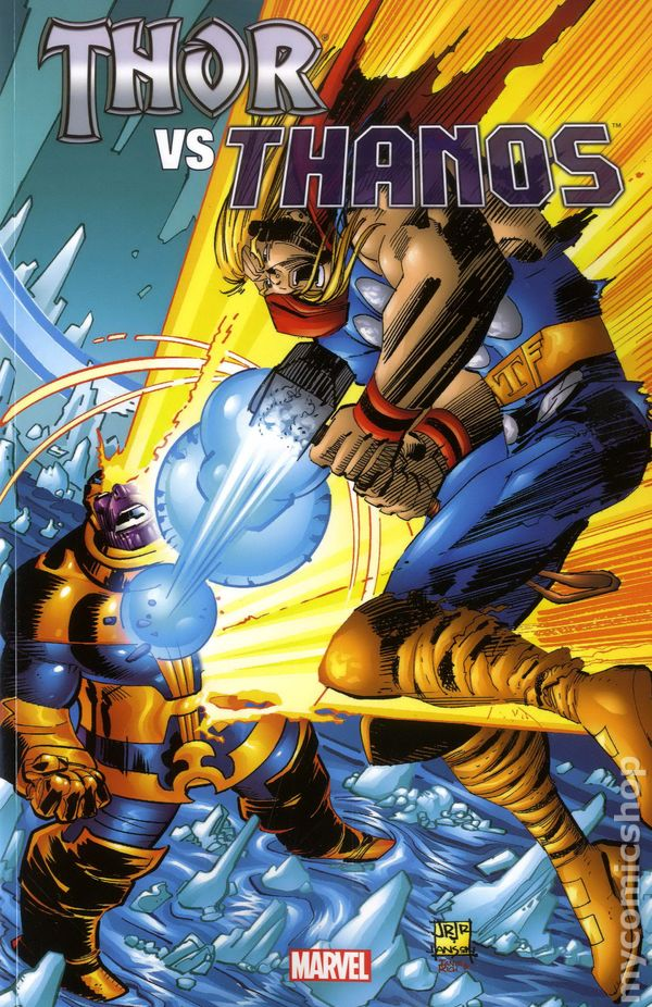 Thor Vs Thanos Tpb 2013 Marvel Comic Books