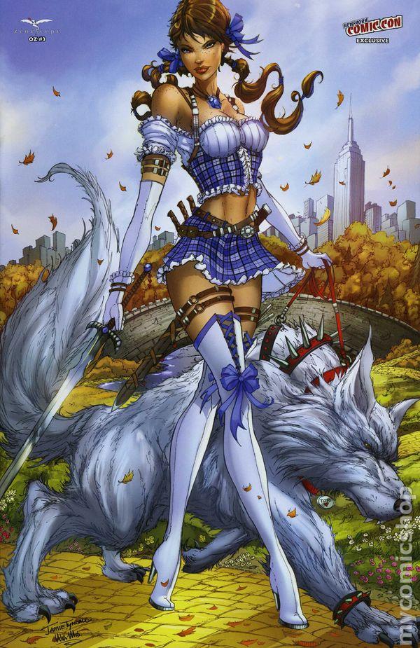 Grimm Fairy Tales OZ #1 Ale Garza VARIANT Zenescope 2013