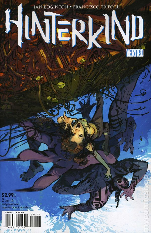 Hinterkind 2013 Dc Vertigo Comic Books