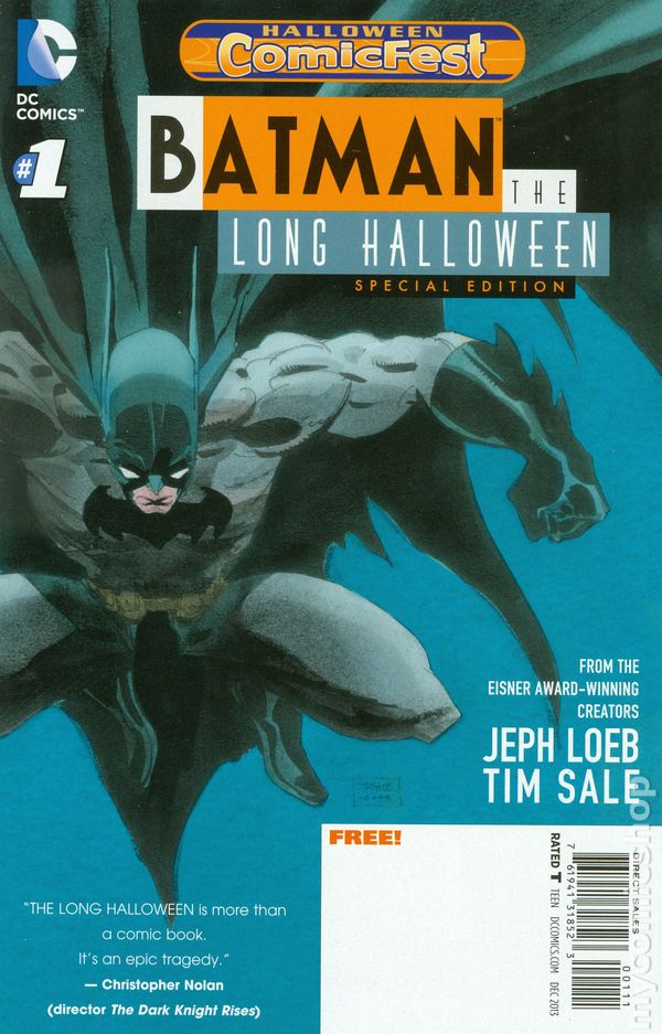 Batman The Long Halloween Special Edition (2013) Halloween ...