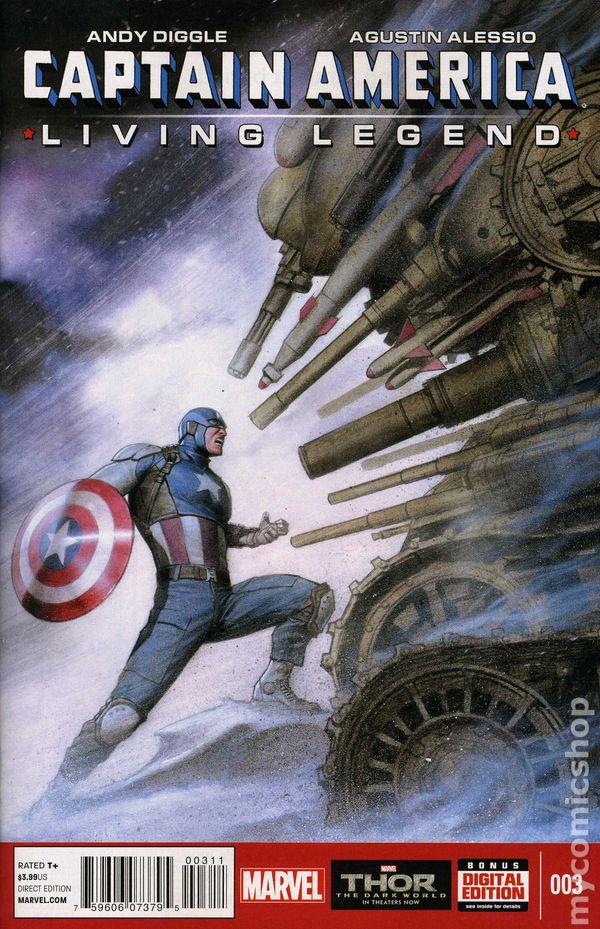 Captain America Living Legend 2013 Comic Books