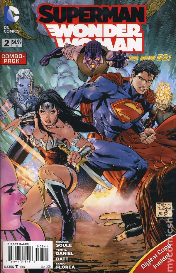 Very Good Dc Comic Fine Superman The Coming Of Supermen #4 2016