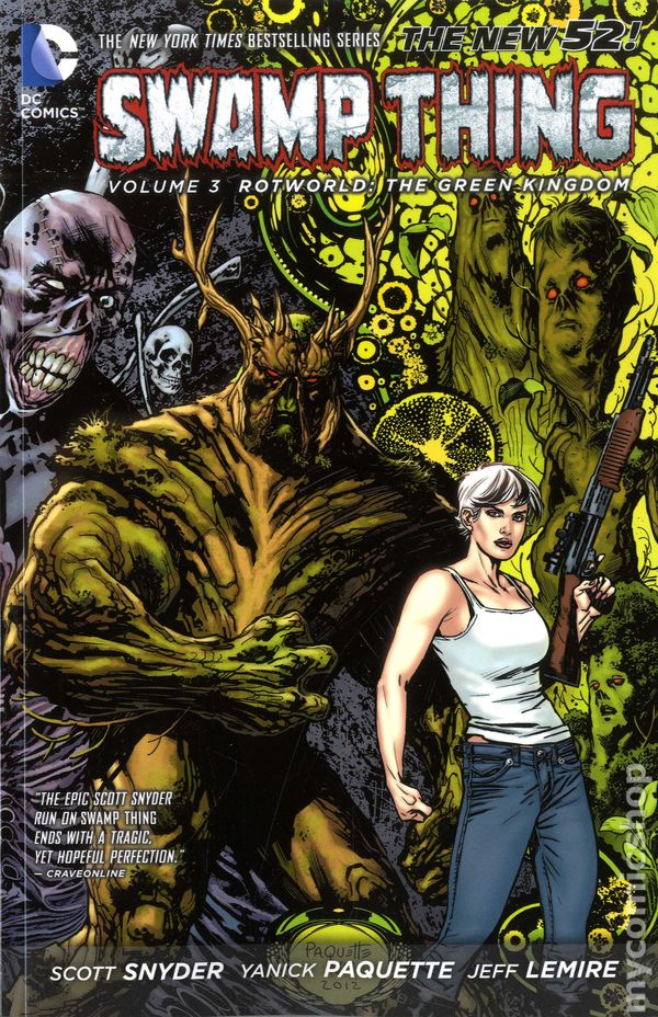 Swamp Thing ANNUAL #3 1987 DC Comics