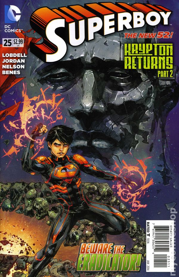 Comic Books In Superman Krypton Returns
