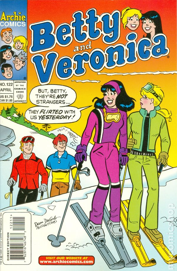 Betty And Veronica 1987 Comic Books