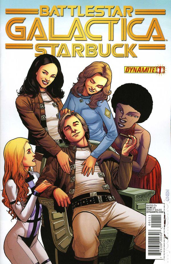 Starbuck Battlestar Galactica >> Battlestar Galactica Starbuck (2013 Dynamite) comic books