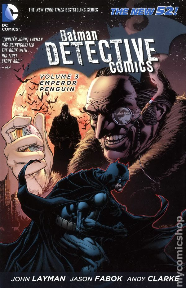 Batman Detective Comics HC (2012-2016 DC Comics The New 52 ...