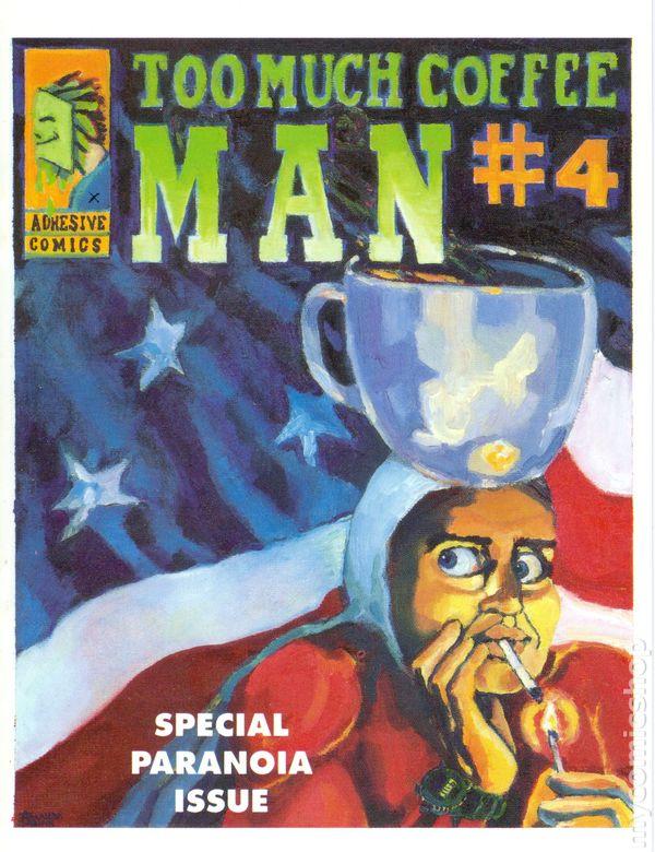 Too Much Coffee Man Magazine (2001) comic books