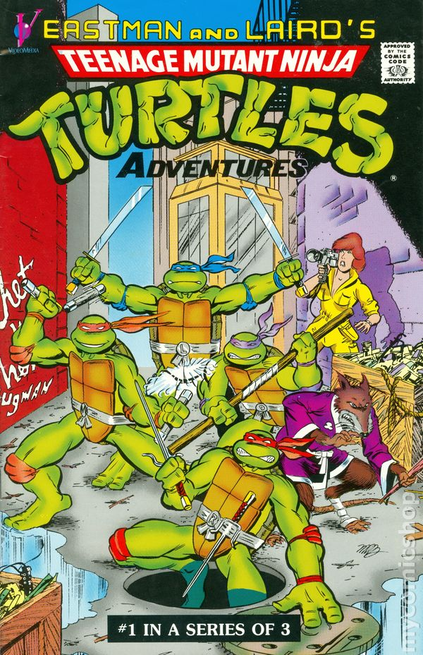 Teenage Mutant Ninja Turtles Adventures 1988 Videomedia