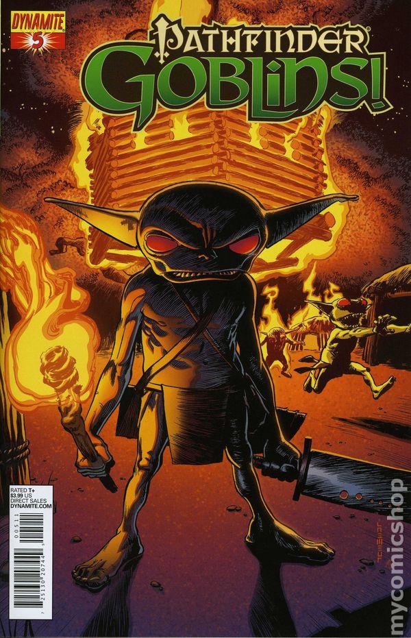 Pathfinder Goblins (2013 Dynamite) comic books