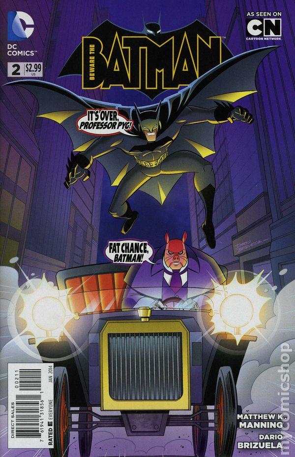 Beware The Batman 2013 Comic Books