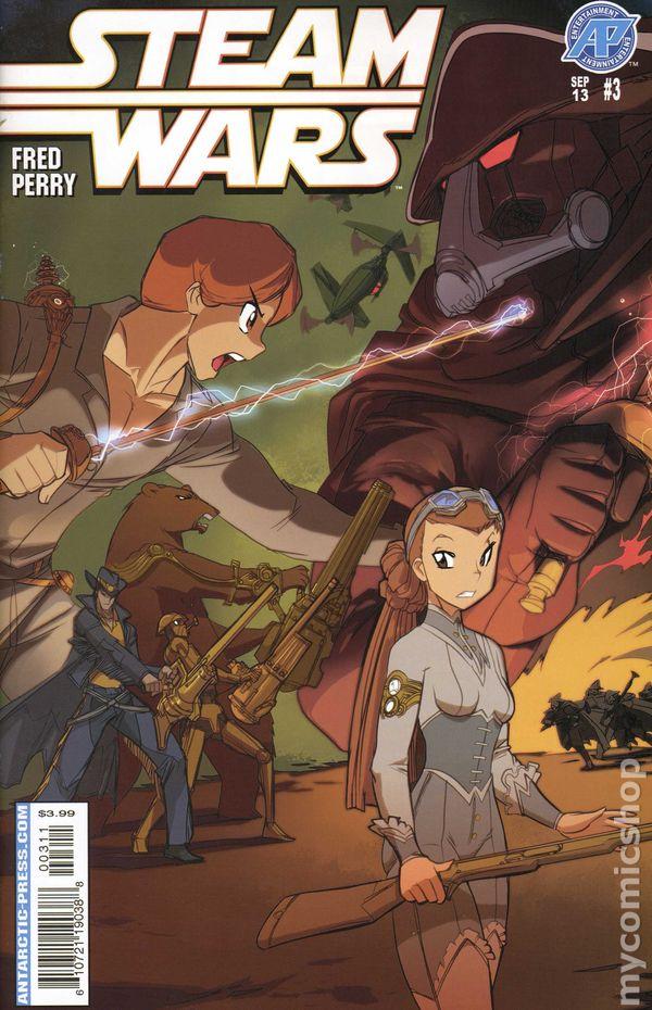 Steam Wars (2013 Antarctic Press) comic books Beauregard S