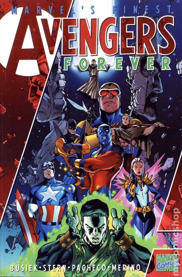 Avengers Forever Tpb 2001 Marvel 1st Edition Comic Books border=