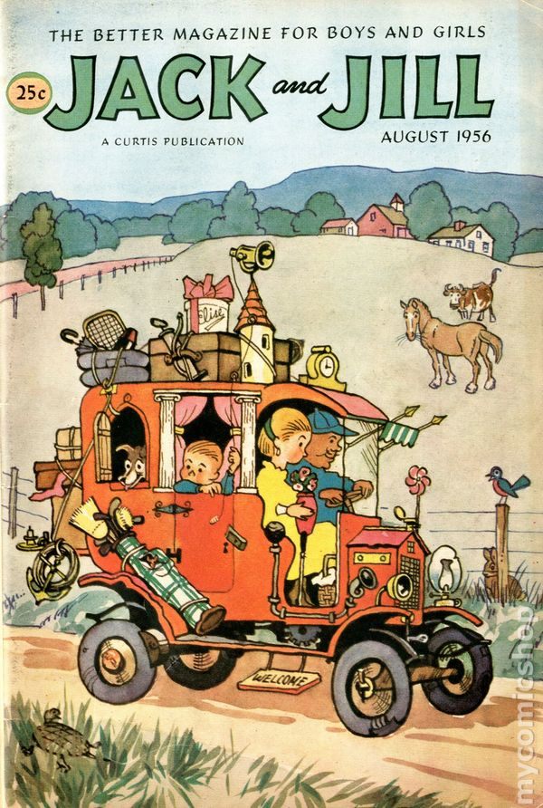 Jack and jill 1938 comic books for Jack and jill stories