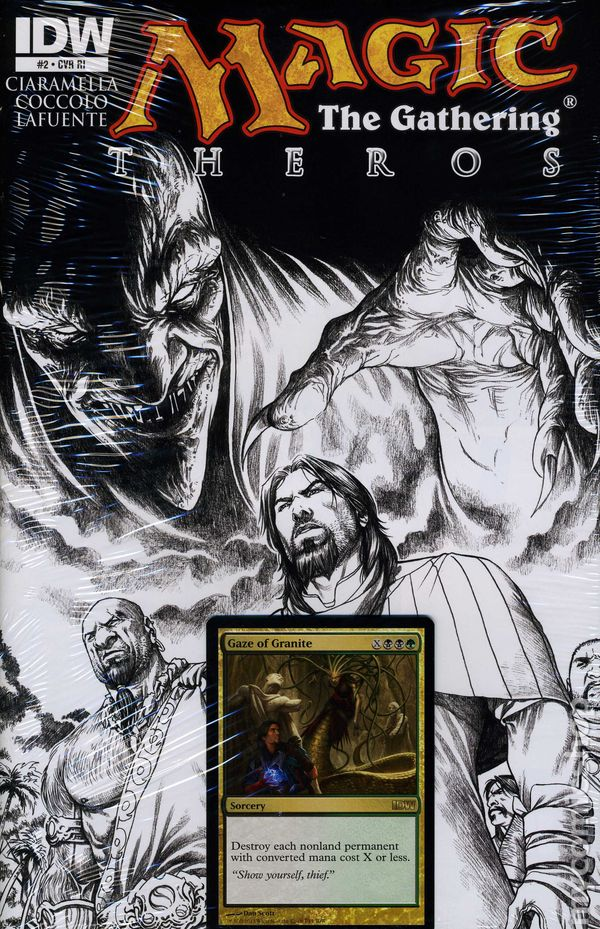 Magic The Gathering Comic Books Issue 2