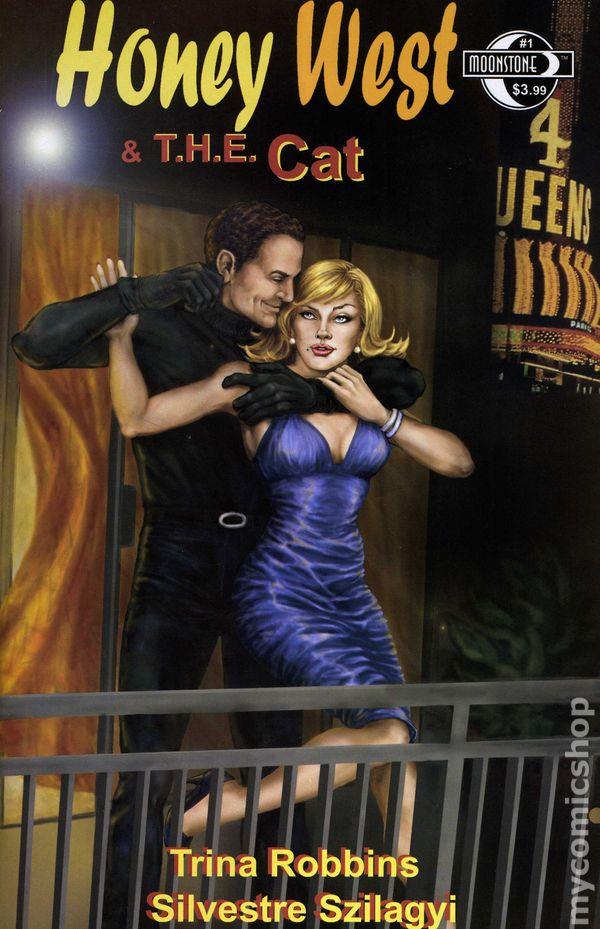 HONEY WEST #1B Art Cover