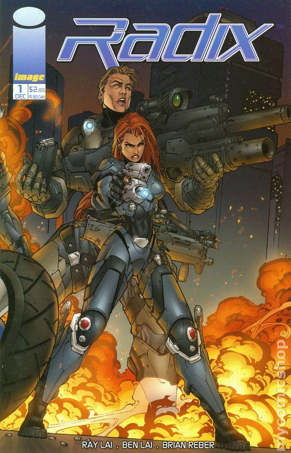 radix  2001  comic books