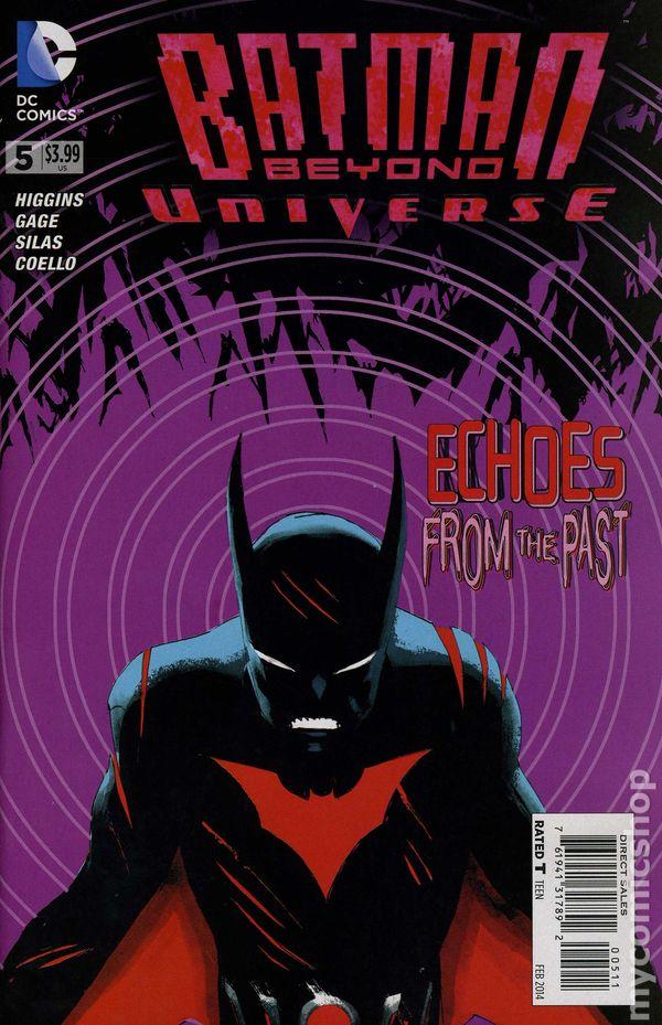 076194133117101011 5 Vol DC Comics #10A Batman Beyond