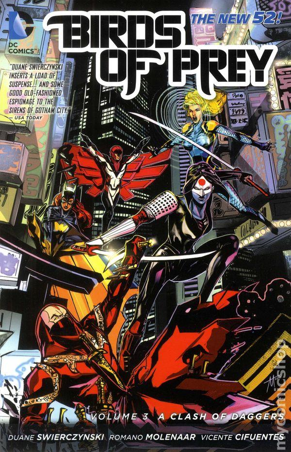 Birds Of Prey Tpb 2012 2015 Dc Comics The New 52 Comic Books