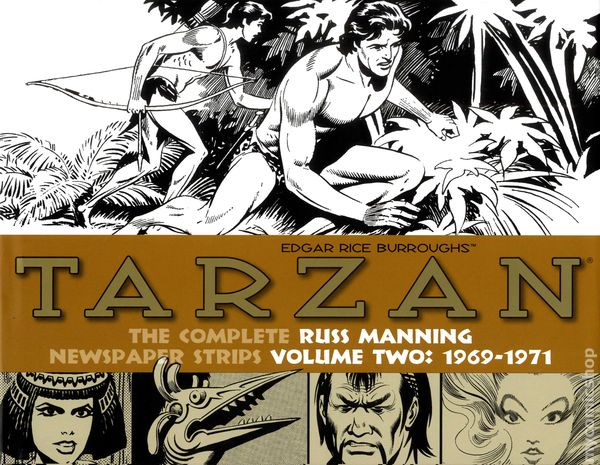 Tarzan: The Complete Russ Manning Newspaper Strips Volume 3 1971-1974