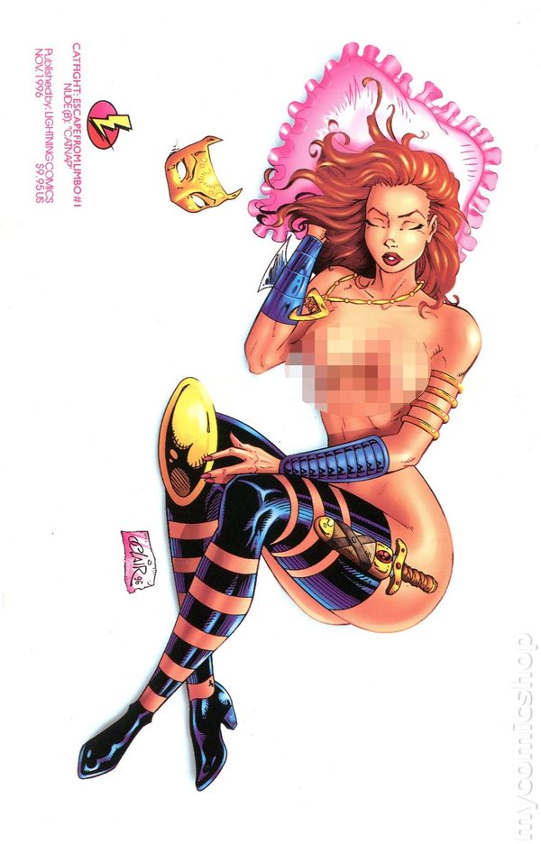 Catfight Escape from Limbo (1996) 1B.NUDE  sc 1 st  MyComicShop.com & Catfight: Escape From Limbo comic books issue 1