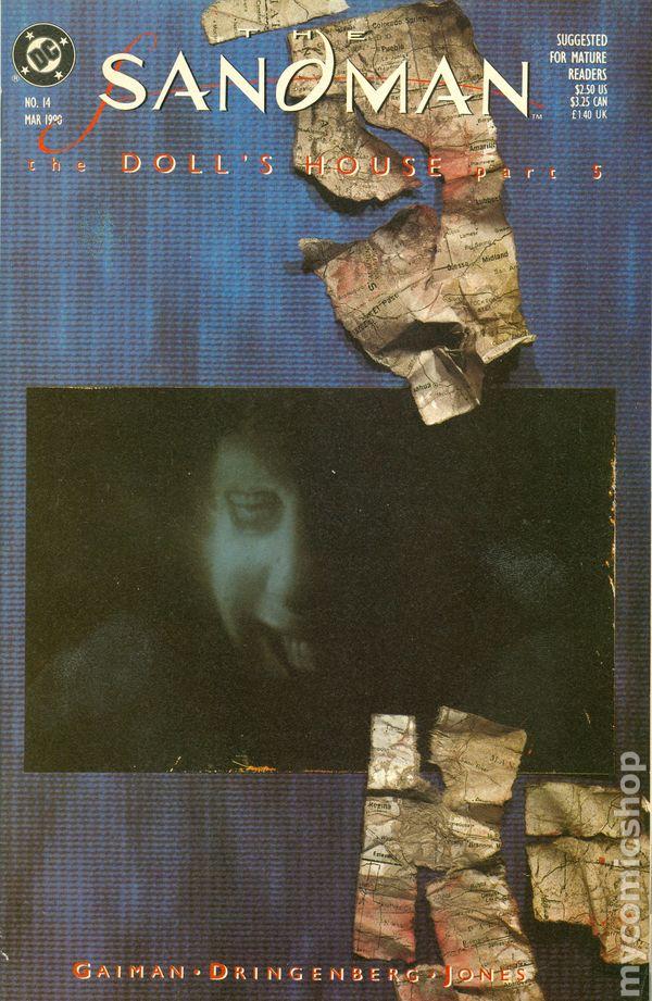 2nd Series Sandman #43 1992 FN Stock Image