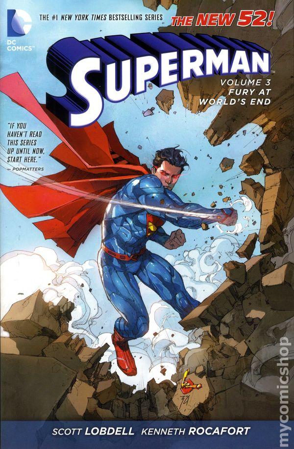 Superman HC (2012-2015 DC Comics The New 52) comic books