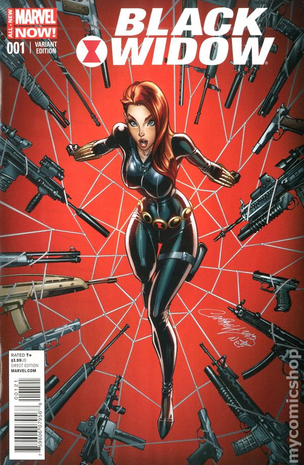 comics series black widow present