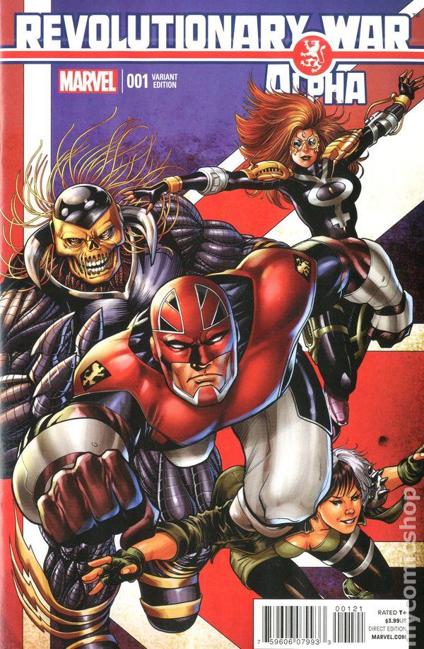 Revolutionary War Alpha 2014 Marvel Comic Books